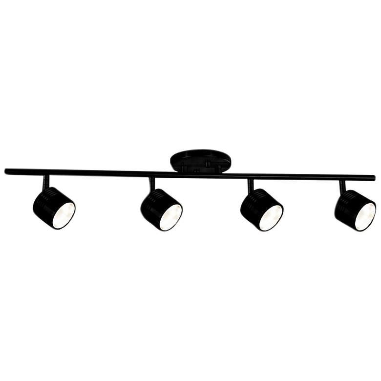 Lyra 4-Light Black LED Track Fixture