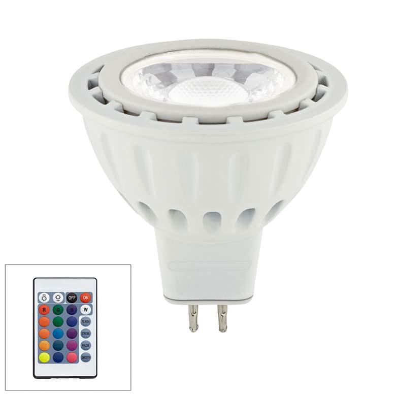 20W Equivalent Tesler 5W LED MR16 RGB W/