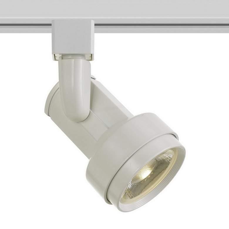 White 17 Watt LED Track Head for Halo System