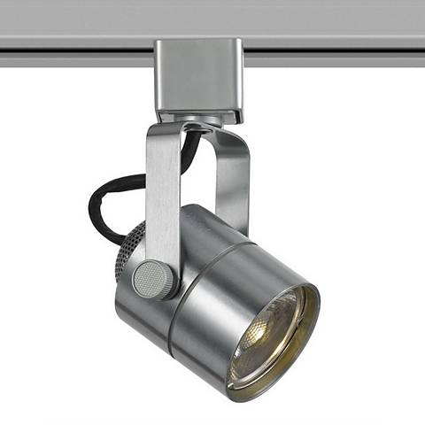 10 Watt LED Brushed Steel Metal Track Head For Halo System