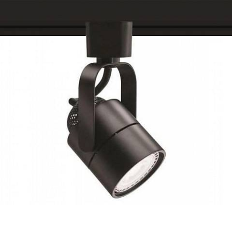 10 Watt LED Dark Bronze Metal Track Head For Halo System