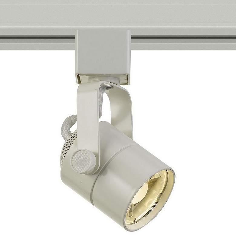 8 Watt LED White Metal Track Head For