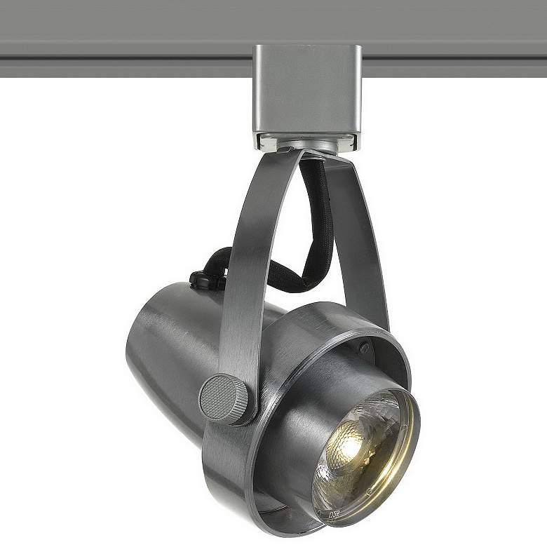 10 Watt Brushed Steel Dimmable LED Track Head for Halo
