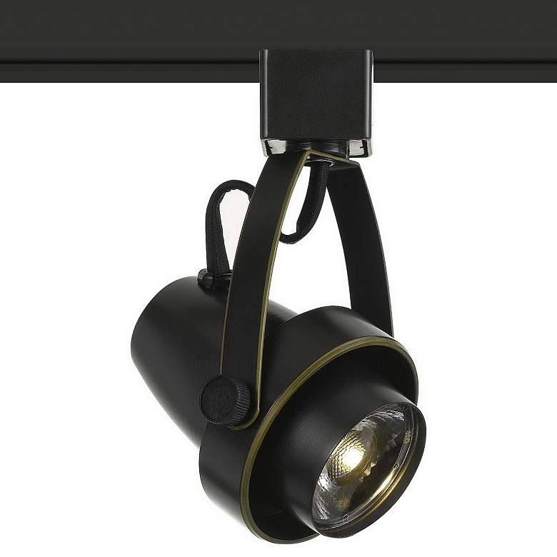 10 Watt Dark Bronze Dimmable LED Track Head for Halo System