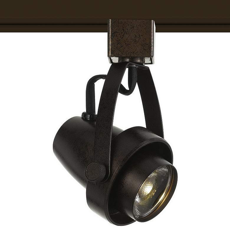 10 Watt Rust Finish Dimmable LED Track Head for Halo System