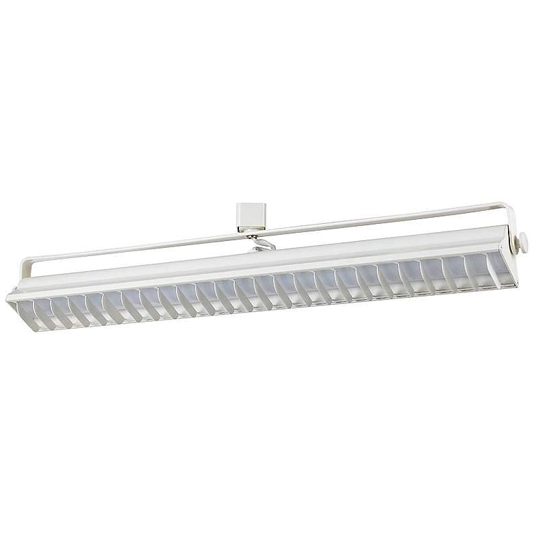 White 60 Watt LED Wall Washer Track Head