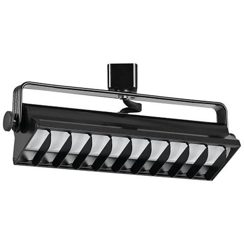 Black 20 Watt LED Wall Washer Track Head
