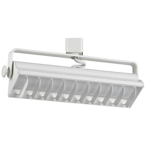 White 20 Watt LED Wall Washer Track Head