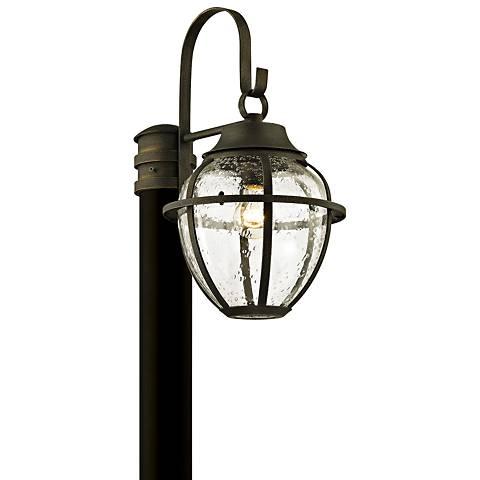 "Bunker Hill 18 1/4"" High Vintage Bronze Outdoor Post Light"