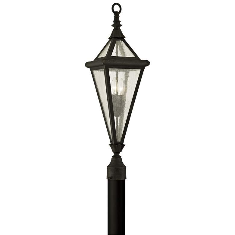 """Geneva 29"""" High Vintage Bronze Outdoor Post Light"""