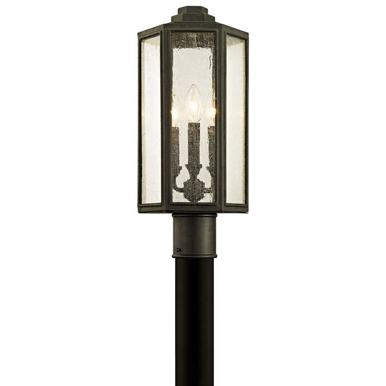 """Hancock 19 1/2"""" High Vintage Bronze Outdoor Post Light"""