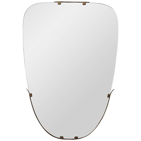 "Arteriors Home Harland Antique Brass 20"" x 29"" Wall Mirror"
