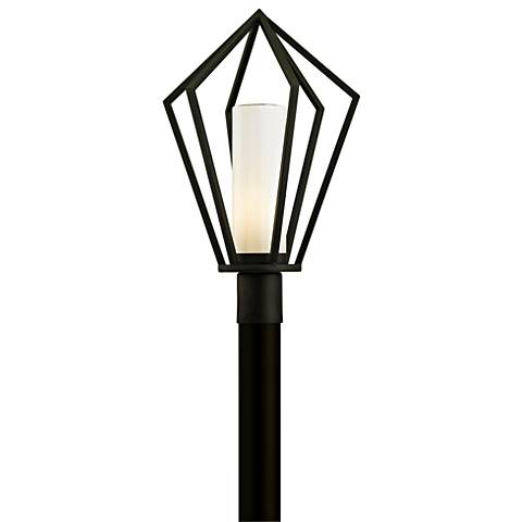"Whitley Heights 22 1/2""H Textured Black Outdoor Post Light"