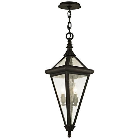 """Geneva 26 1/2"""" High Vintage Bronze Outdoor Hanging Light"""