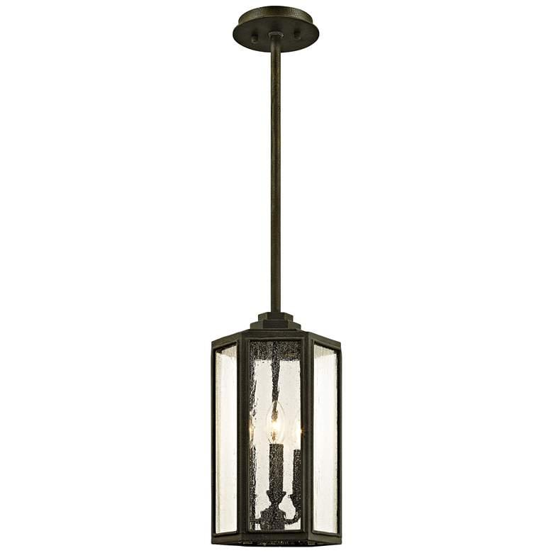 """Hancock 15 1/2"""" High Vintage Bronze Outdoor Hanging Light"""