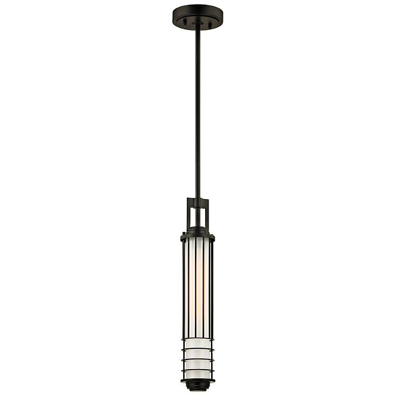 "Powell Street 20"" High Bronze Outdoor Hanging Light"