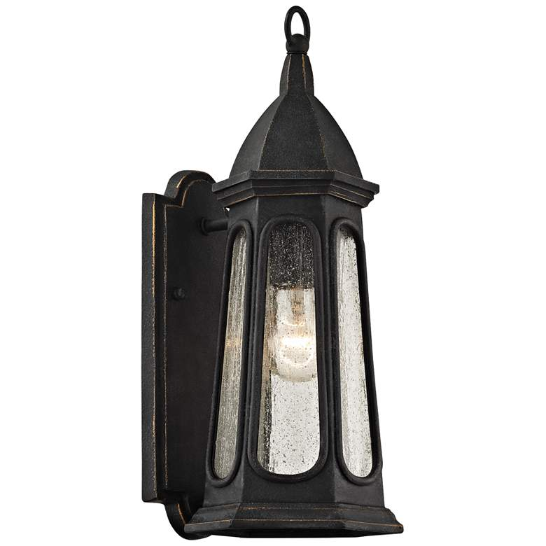 "Astor 15 3/4"" High Vintage Iron Outdoor Wall Light"