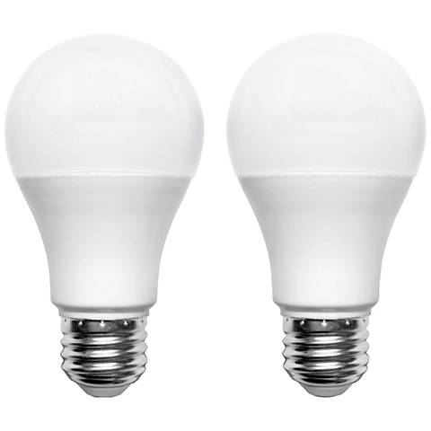 100W Equivalent Frosted 17W A Bulb LED Non-Dimmable 2-Pack