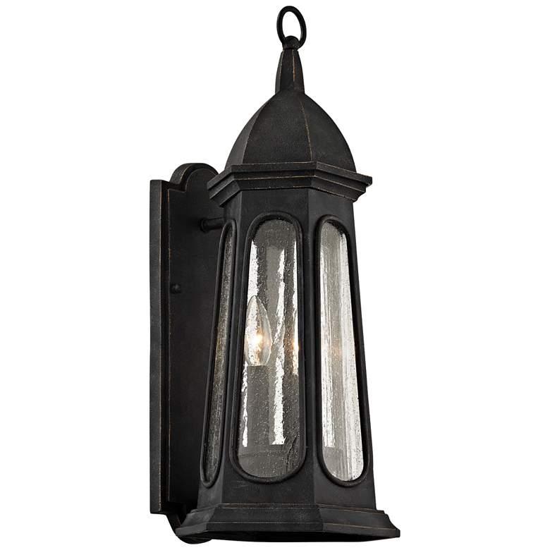 "Astor 21 3/4"" High Vintage Iron Outdoor Wall Light"