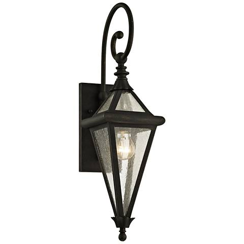 "Geneva 23 1/2"" High Vintage Bronze Outdoor Wall Light"