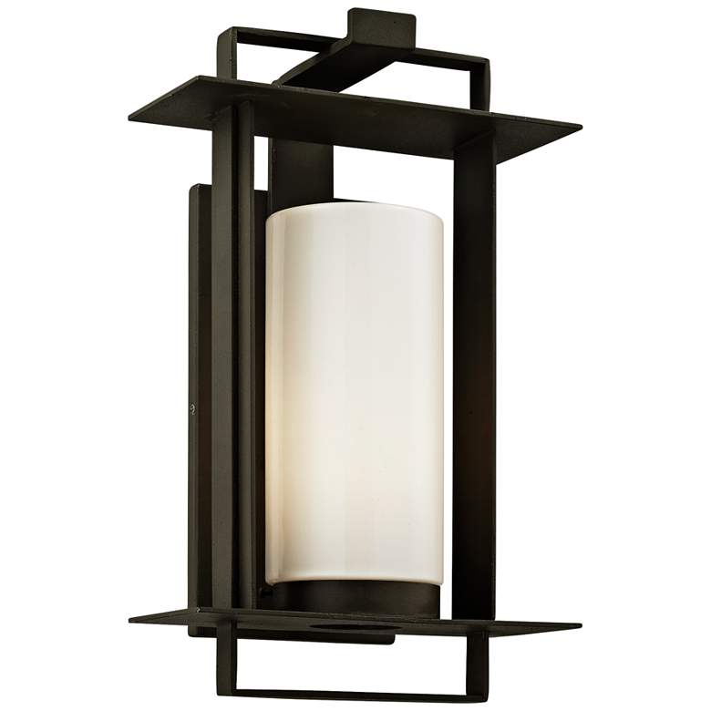 "Kendrick 14 3/4"" High Bronze Outdoor Wall Light"