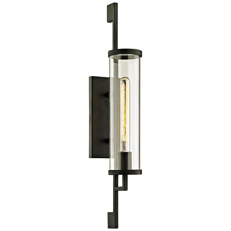 """Park Slope 26"""" High Forged Iron Outdoor Wall Light"""