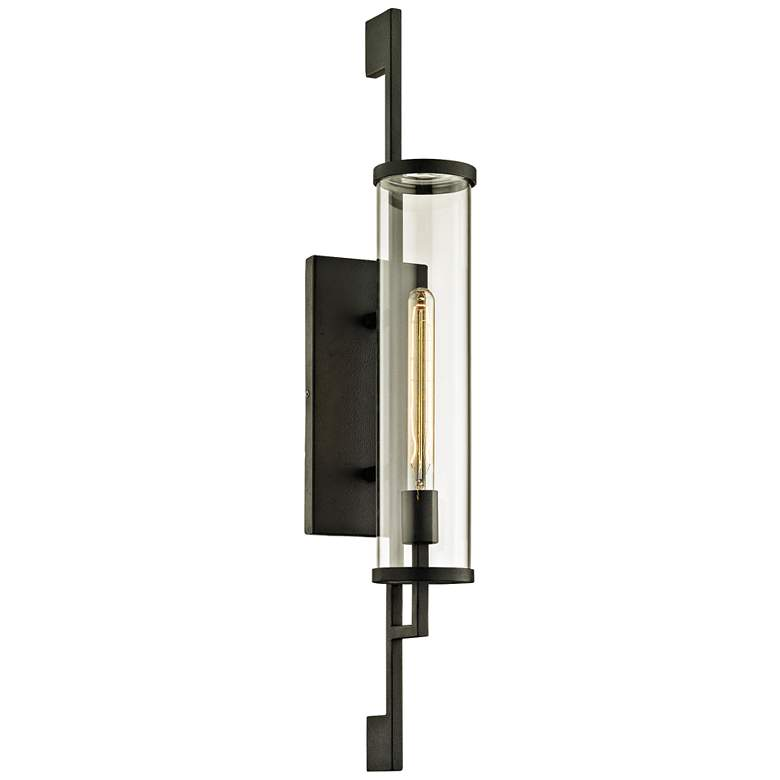 """Park Slope 32"""" High Forged Iron Outdoor Wall Light"""