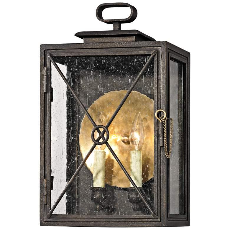 "Randolph 16 1/2"" High Vintage Bronze Outdoor Wall Light"