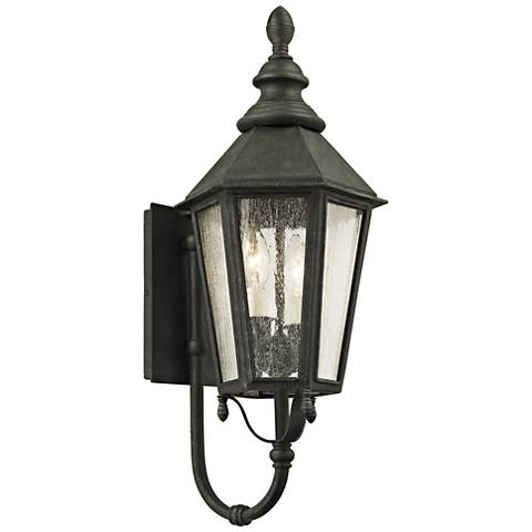 "Savannah 23 1/4"" High Vintage Iron Outdoor Wall Light"