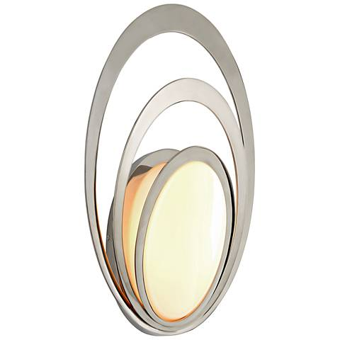 "Stratus 20"" High Polished Stainless LED Outdoor Wall Light"