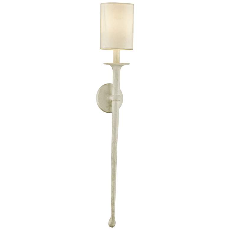 """Faulkner 37"""" High Gesso White Wall Sconce by Troy Lighting"""