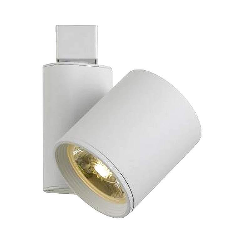 White 40 Watt LED Long Cylinder Track Head