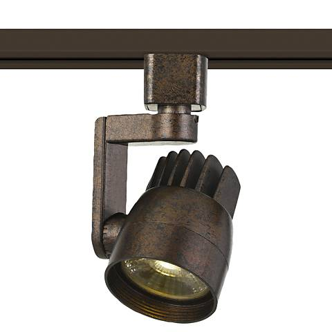 12 Watt LED Rust Track Head For Halo System