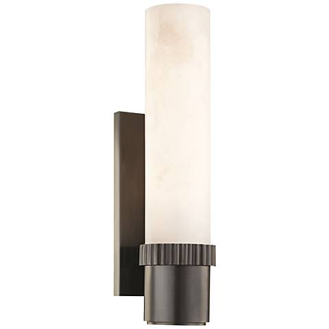 "Hudson Valley Argon 15"" High Old Bronze LED Wall Sconce"