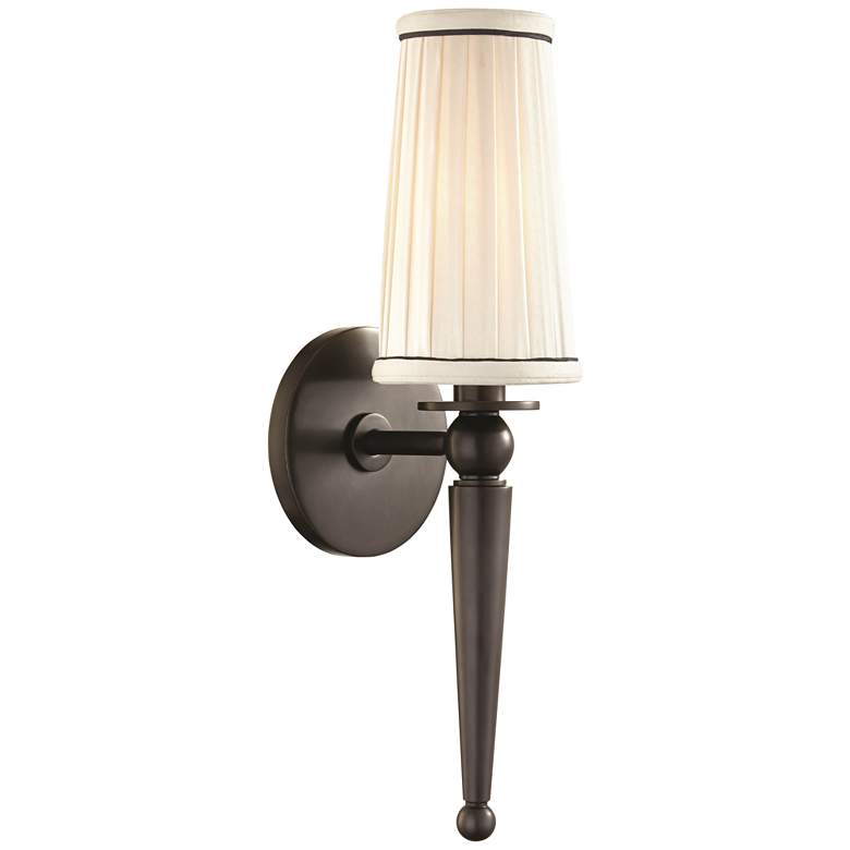"Hudson Valley Cypress 15 3/4"" High Old Bronze Wall Sconce"