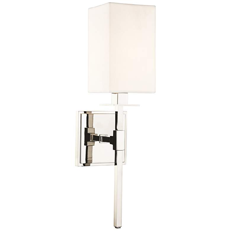 """Hudson Valley Taunton 17"""" High Polished Nickel Wall Sconce"""