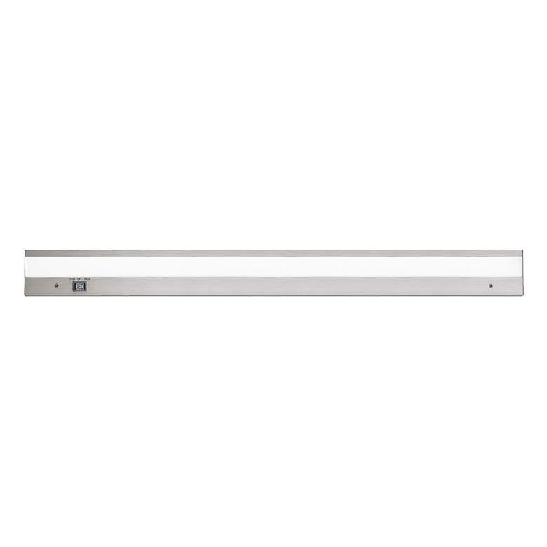 "WAC DUO AC-LED 36"" Wide Brush Aluminum Under Cabinet Light"