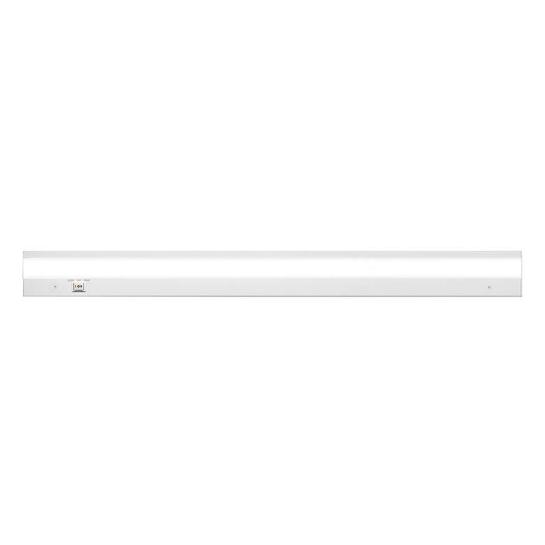 """WAC DUO AC-LED 36""""W White Powder Coat Under Cabinet Light"""