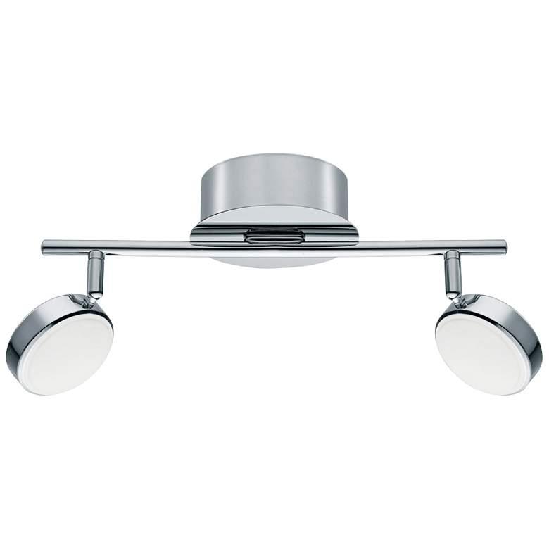 Eglo Salto 2-Light Chrome LED Track Fixture