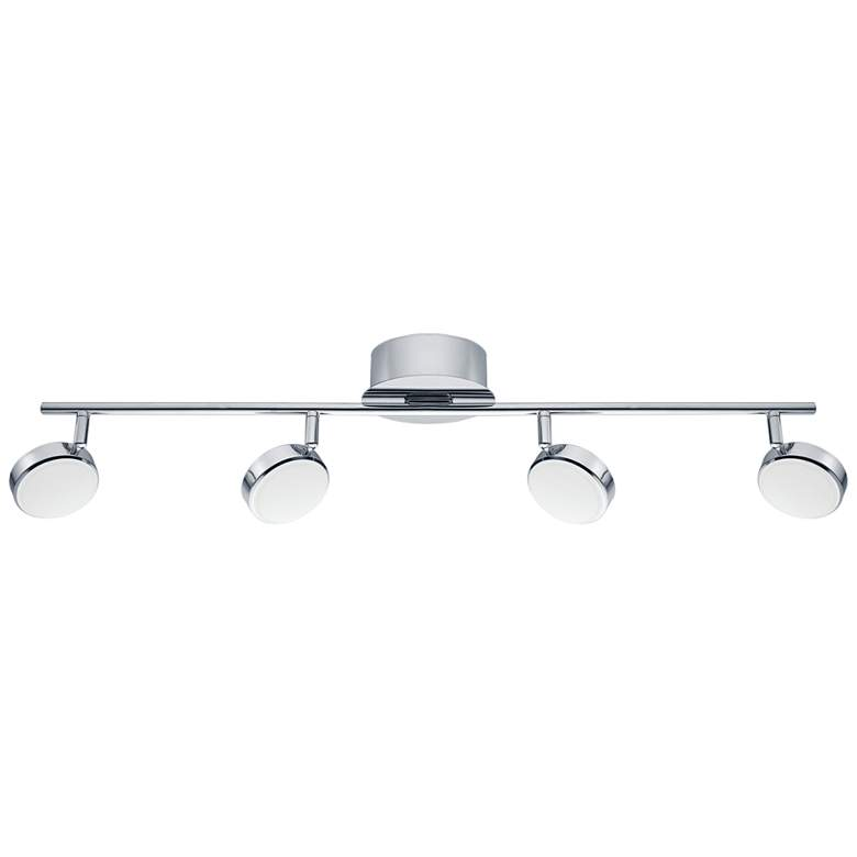 Eglo Salto 4-Light Chrome LED Track Fixture