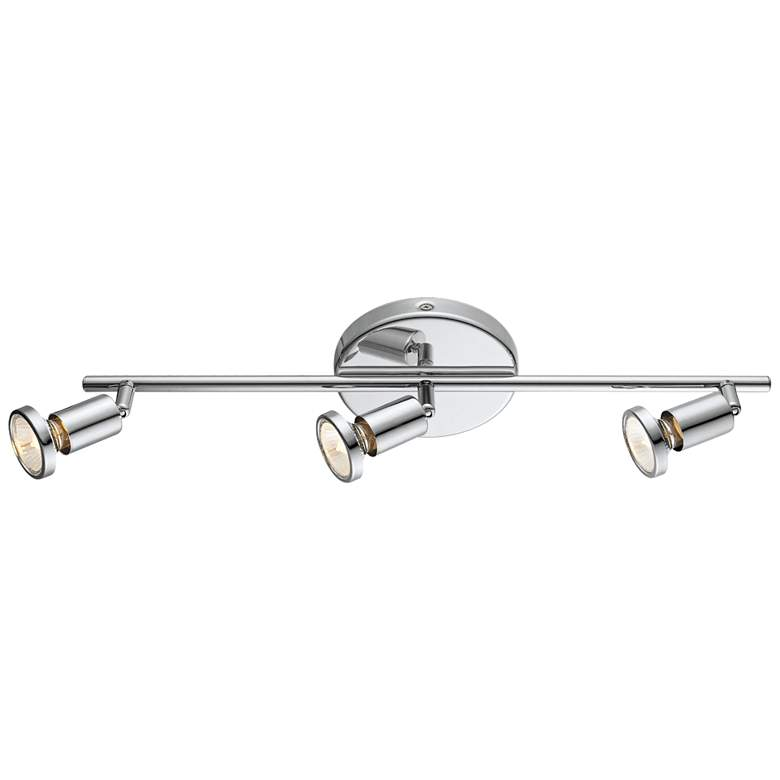 Eglo Buzz 3-Light Chrome Track Fixture