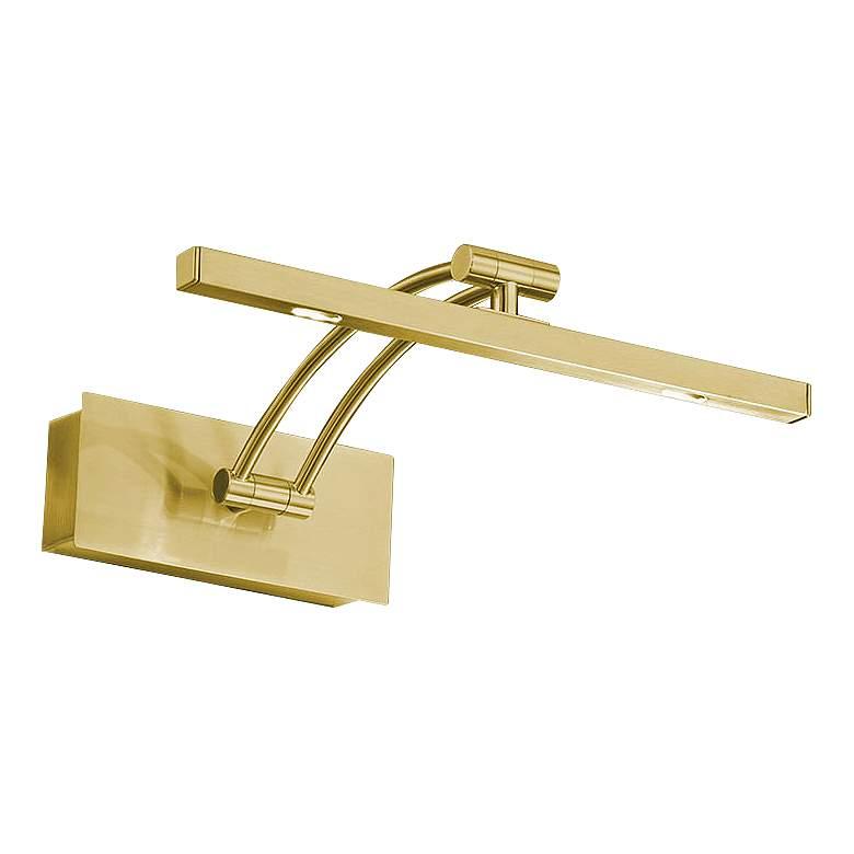 "Eglo Doreen 2 24 1/4"" Wide Matte Brass LED Picture Light"