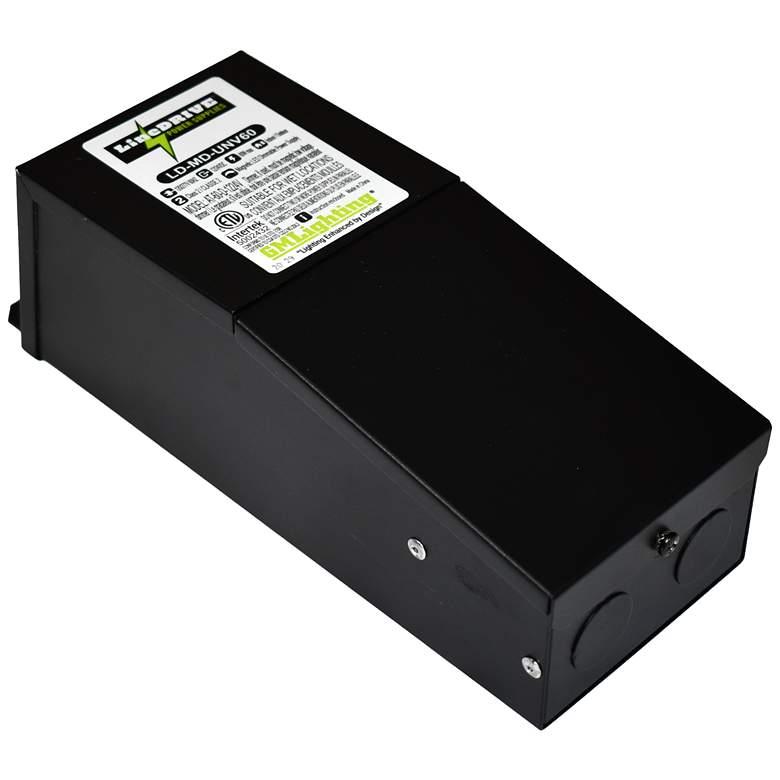 """Kelvin 3"""" Wide 12VDC/24VDC 60W LED Dimmable Power Supply"""