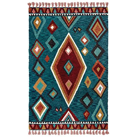 Madison 61402 Blue and Pink Area Rug