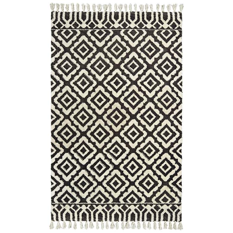 Madison 61406 5'x8' Ivory and Brown Area Rug