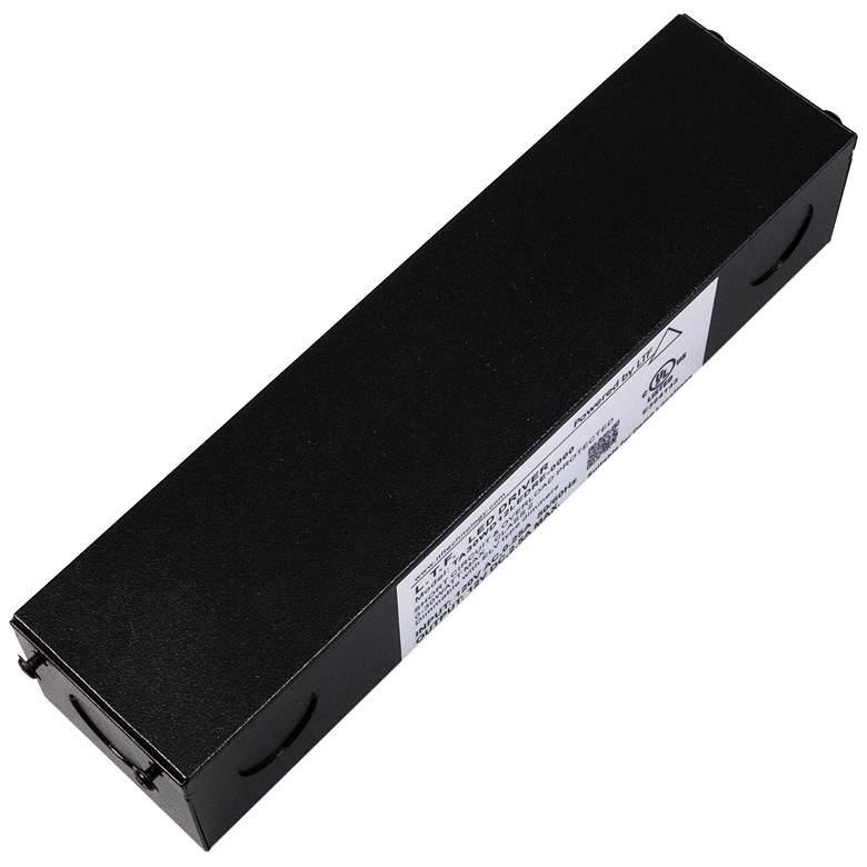 "SlimEdge™ 3.4""W Black 24VDC 96W LED Dimmable Power Supply"