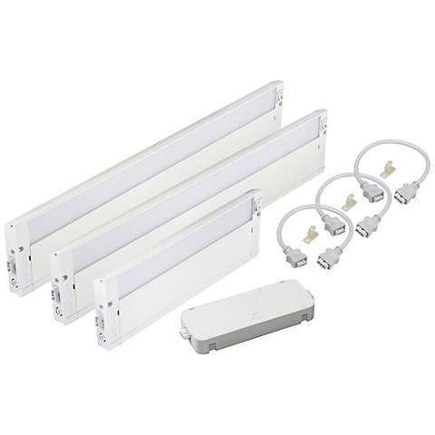 Kichler Under Cabinet Kit with Three LED Lights and Cable ...