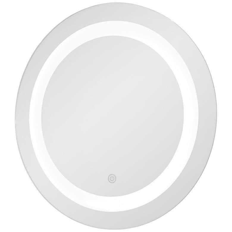 "George Kovacs Treviso 18"" Round LED Wall Mirror"