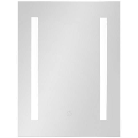 "George Kovacs Amalfi 9 3/4"" x 19 3/4"" LED Wall Mirror"