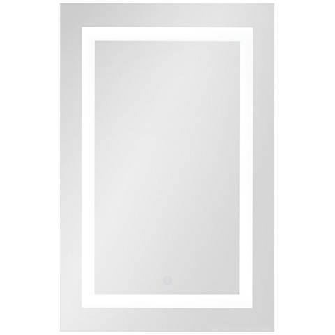 "George Kovacs Ravenna 16 1/4"" x 27 1/2"" LED Wall Mirror"